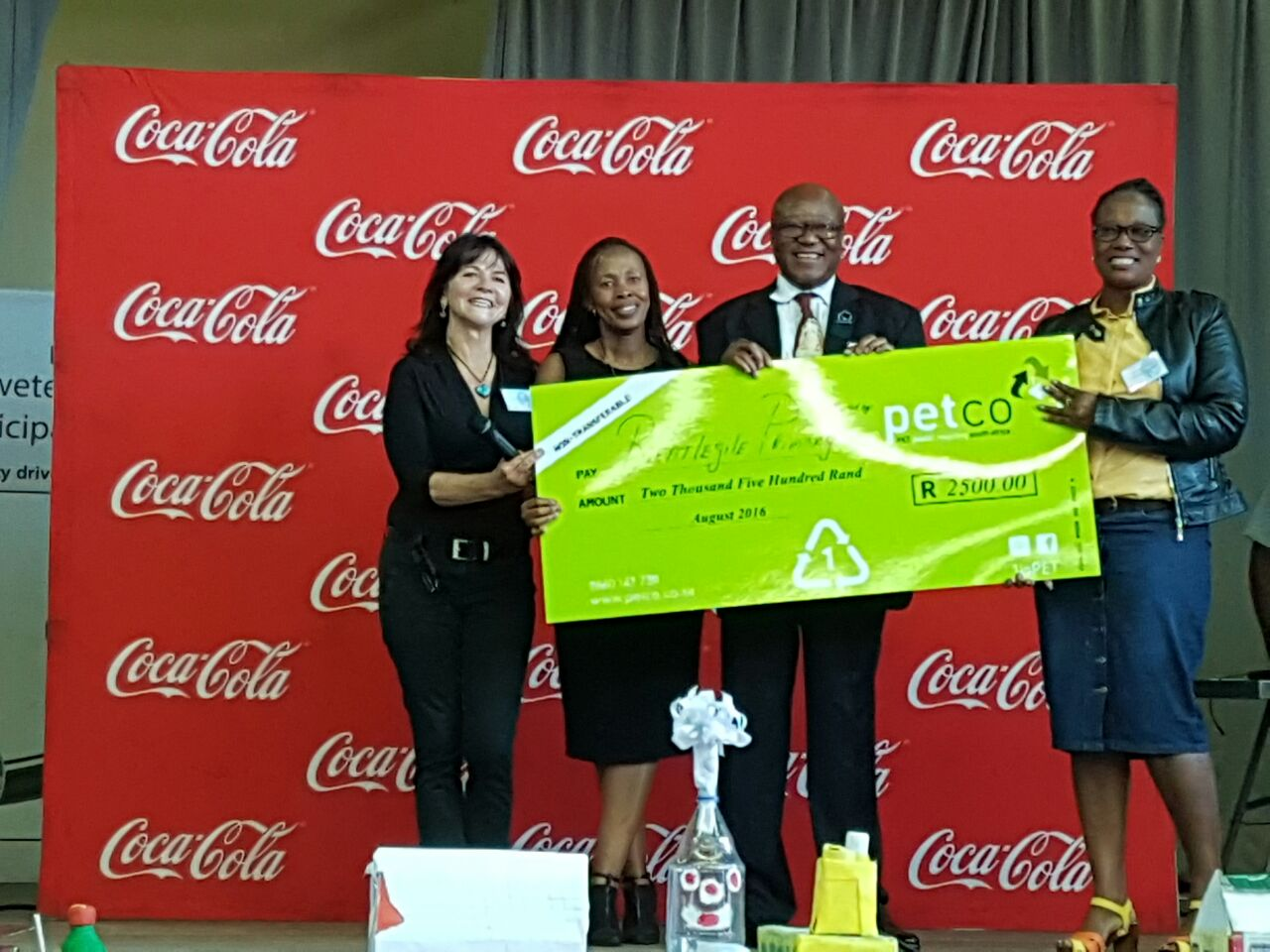 PETCO judges the 2016 Mhluzi Recycling Competition