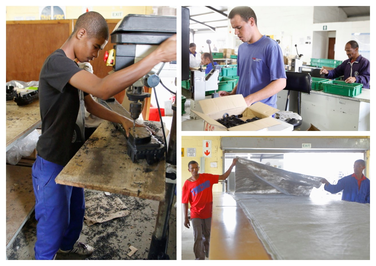 CREATING JOBS FOR PEOPLE WITH DISABILITIES THROUGH RECYCLING