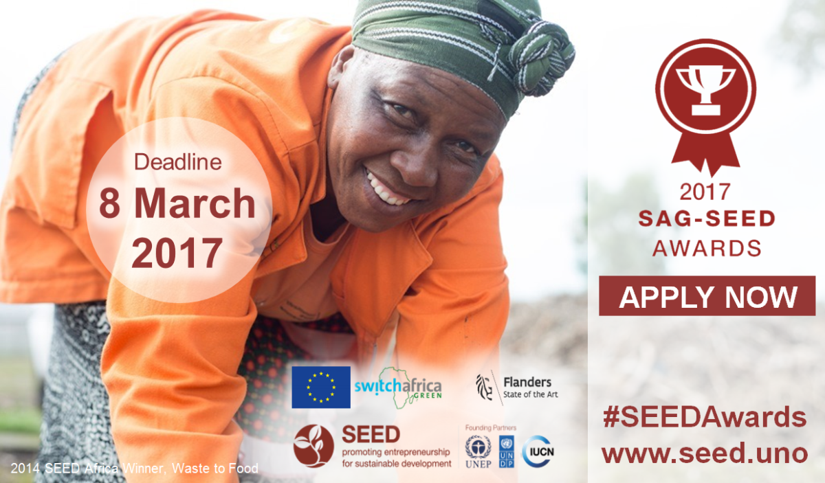 2017 SAG-SEED Awards: Call for Applications NOW OPEN