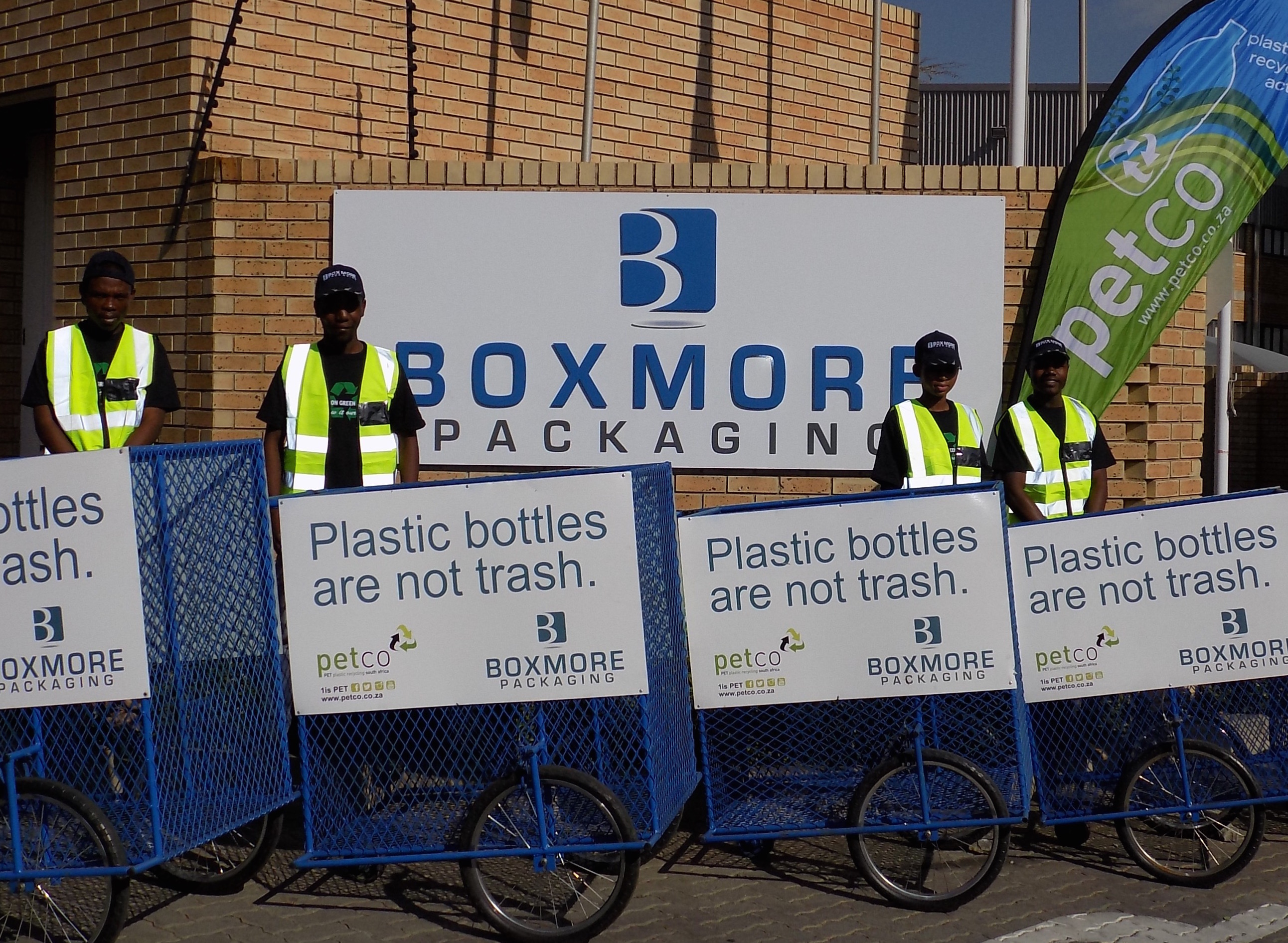BOXMORE AND PETCO COLLABORATE TO CREATE JOBS AND DRIVE RECYCLING