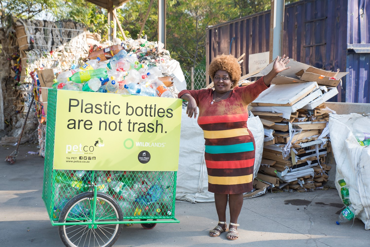 COLLECTING WASTE JUST BECAME A WHOLE LOT EASIER