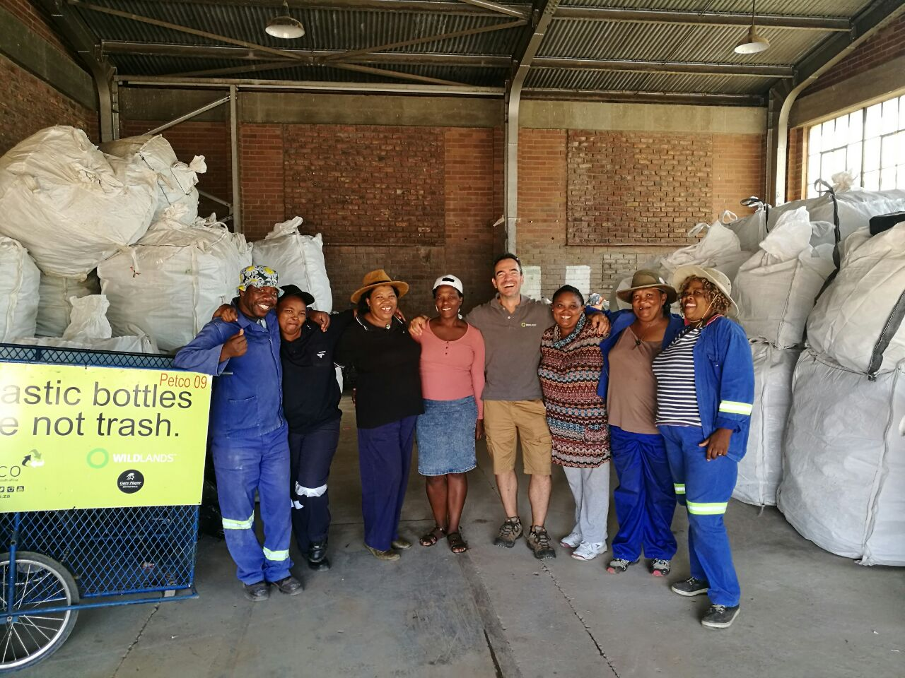 WILDLANDS praise A9 Recycling efforts in Colesberg