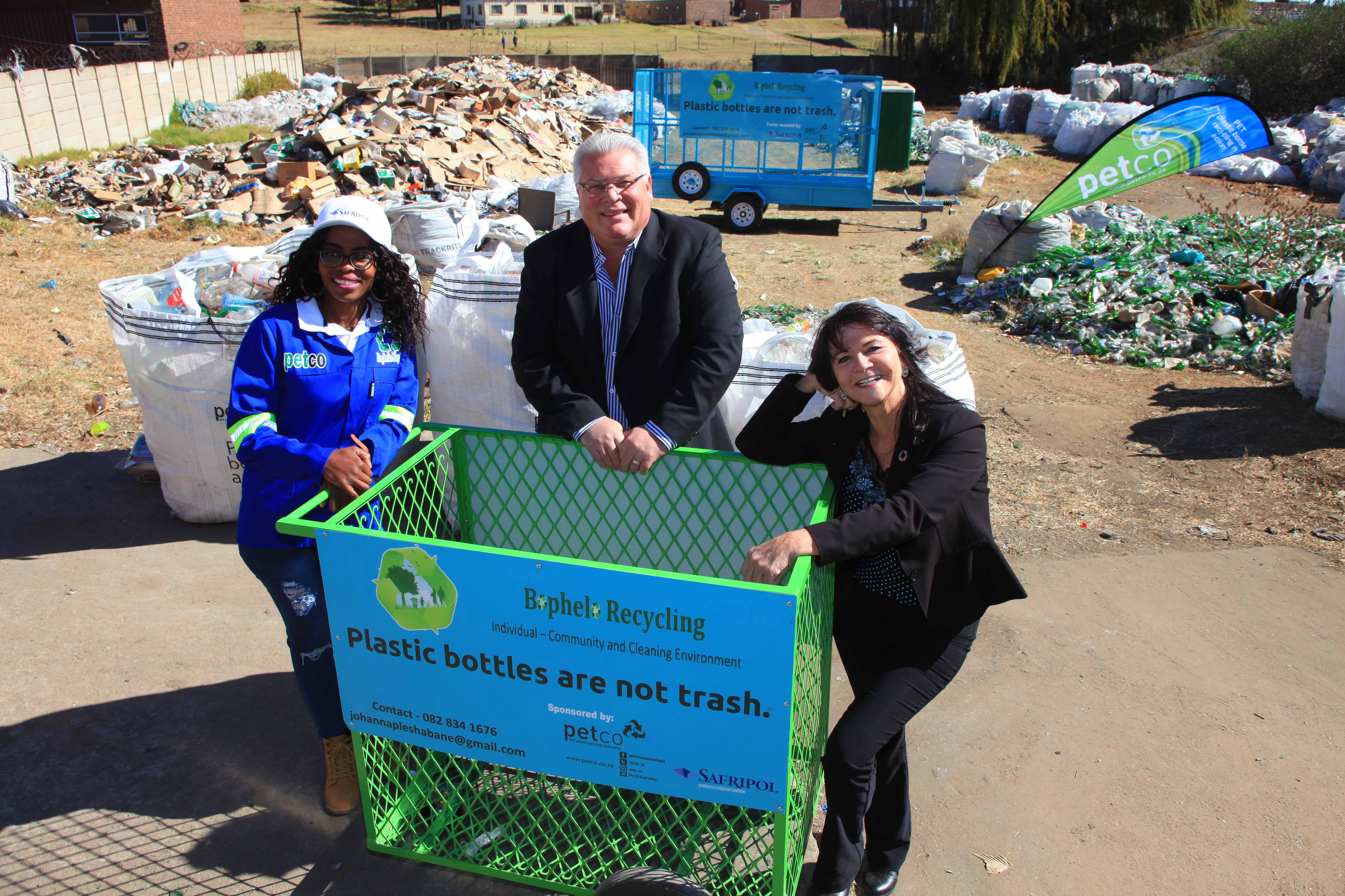 Boost for Ermelo recycling project