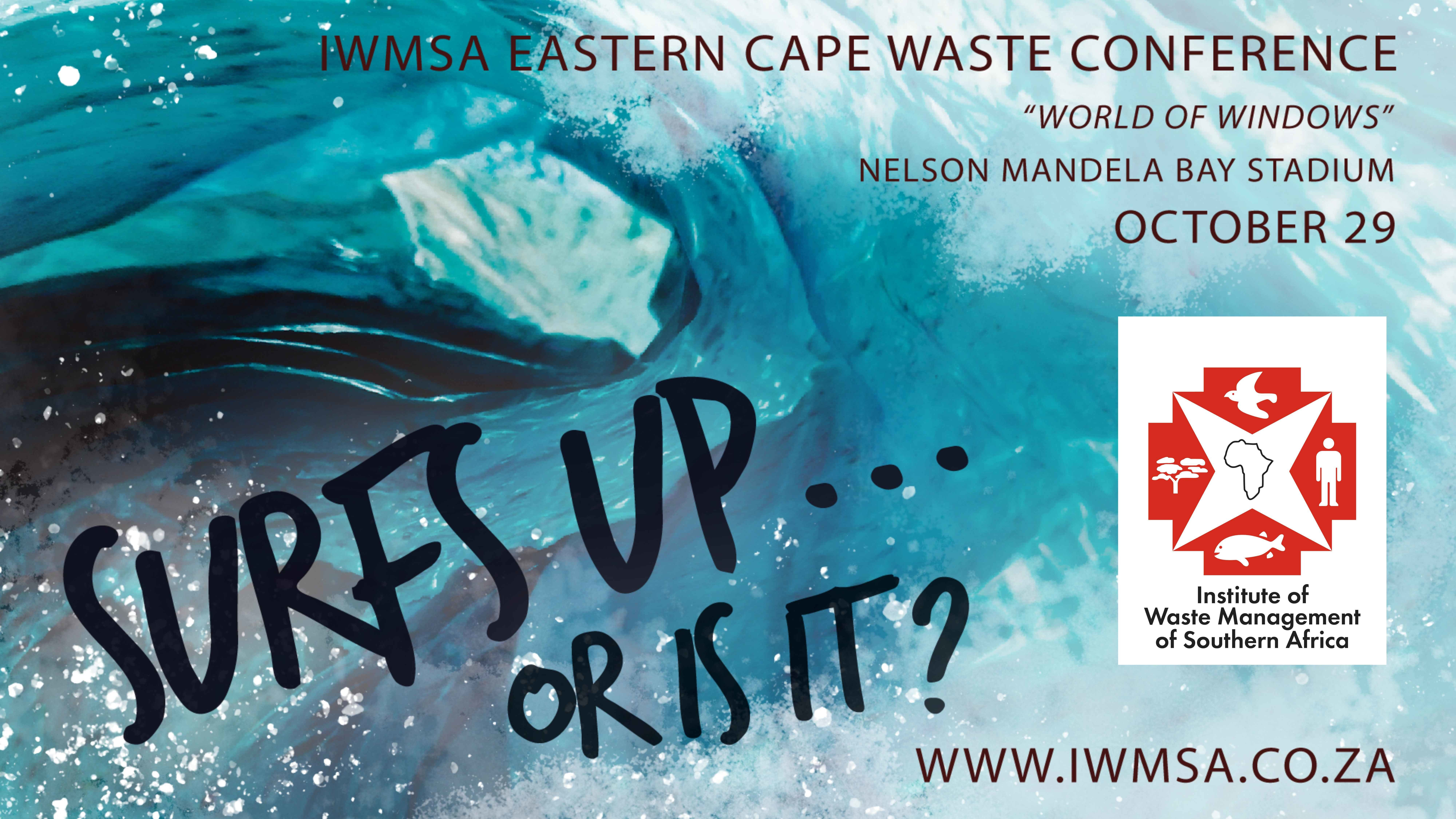 EASTERN CAPE: IWMSA Conference 2019 – Surfs Up Or Is It?  | 29 October 2019