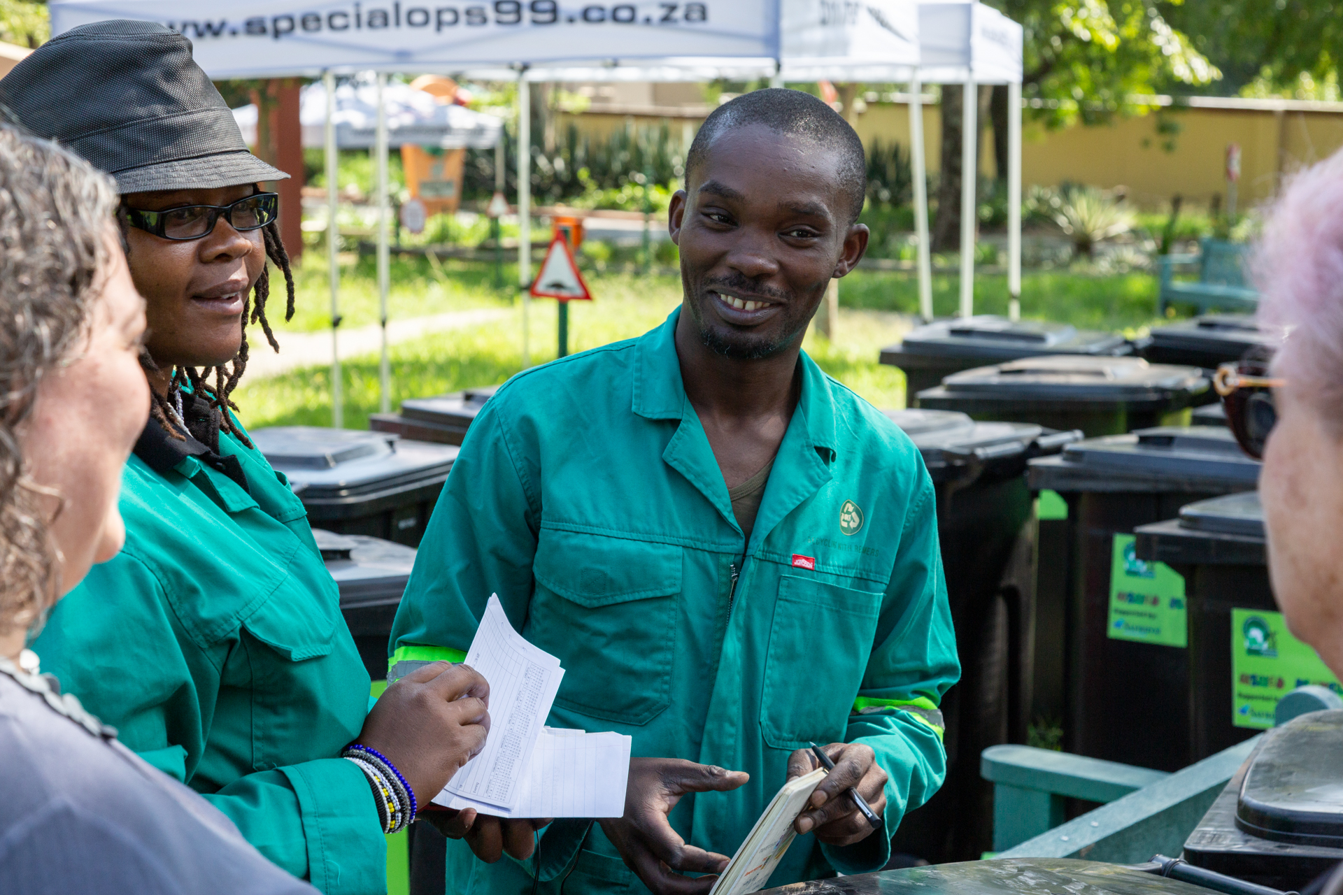 Unique recycling programme a boost for informal sector