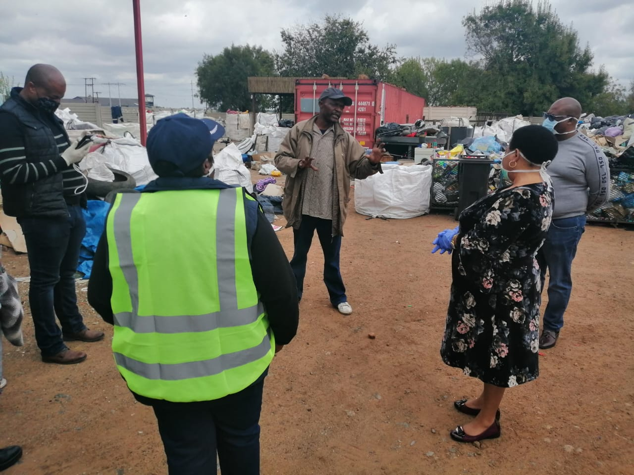 Vaalpark reclaimers' lockdown plight eased